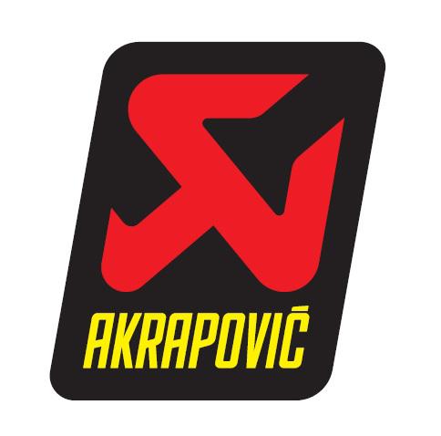 ADESIVO AKRAPOVIC BY HUSQVARNA 60X75 ALTE TEMPERATURE