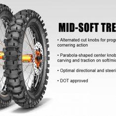 METZELER MC360 MID-SOFT 120-100-18