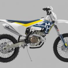 MODELLINO HUSQVARNA MODEL BIKE FE 350 2017
