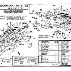 KIT WINGRACK HONDA vfr 750 90-93