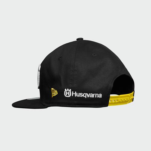 CAPPELLO HUSQVARNA ROCKSTAR REPLICA TEAM SNAPBACK CAP 2019 - Ragni Moto 230579792d6f